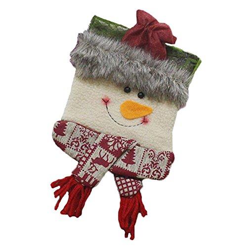 Drawihi 1PC Weihnachtssocken zur Aufbewahrung von Süßigkeiten Urlaub...
