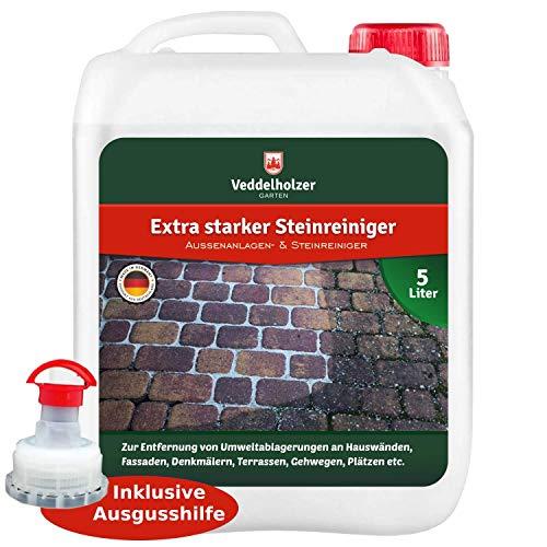 Veddelholzer Außenanlagenreiniger Steinreiniger 5 Liter Konzentrat mit...