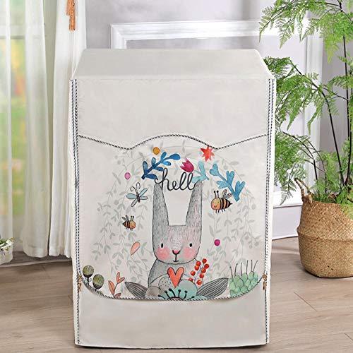 Waschmaschine Abdeckung Cartoon Kaninchen 60X60X85Cm Wasserdicht Staubdicht...