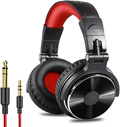Over Ear Kopfhörer OneOdio DJ Kopfhörer mit Kabel Geschlossene Studio...