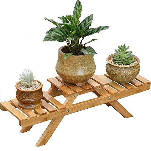 Blumenständer Für Indoor Outdoor Garten Holz Oldable Blumenständer...