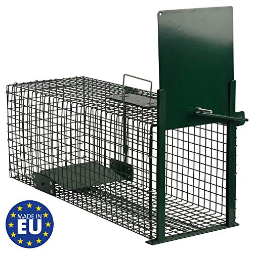 Moorland Safe 5001 Lebendfalle 60x23x23cm als Marder-Falle, Katzen-Falle,...