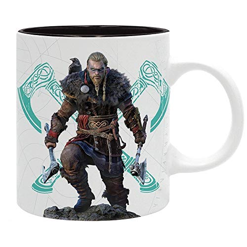 Assassin's Creed Valhalla Unisex Tasse multicolor Keramik Fan-Merch, Gaming,...