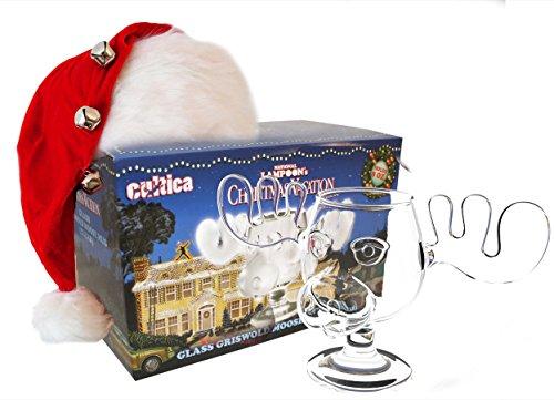 Cultica Schöne Bescherung Elchglas Christmas Vacation Moose Mug aus Glas...