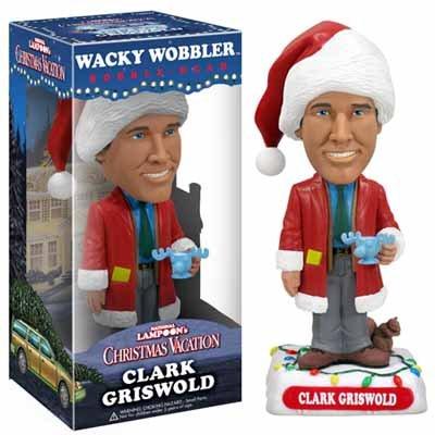 Clark Griswold Christmas Vacation Wackel Kopf Figur mit Elchglas Moose Mug...