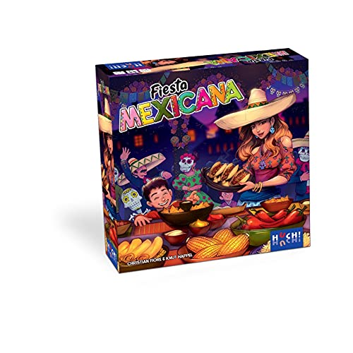 HUCH! Fiesta Mexicana, Kartenspiel (DE, EN, FR), für 2-4 Spieler, ab 8 Jahren