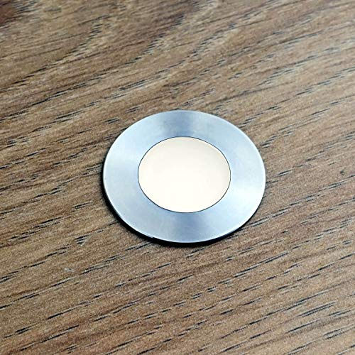 VBLED LED Mini-Bodeneinbauleuchte,Bad-Einbauleuchte,rostfreier Edelstahl, IP67...