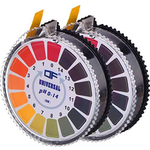 Universal pH Testpapierstreifen pH Teststreifen Rolle, pH Wert Voller Bereich...