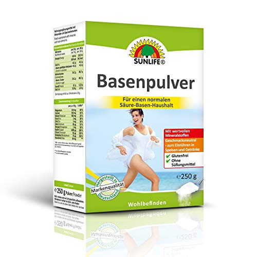 SUNLIFE Basenpulver: Für einen normalen Säuren-Basen-Haushalt, mit wertvollen...