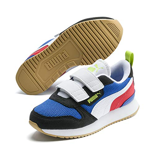 PUMA R78 Kids Sneaker Palace Blue-Black-White UK 12_Youth_FR 31