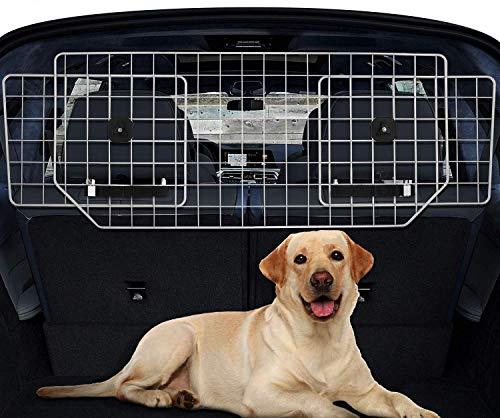 Hundegitter Auto Gepäcknetz, Kopfstützen Trenngitter Auto Hundeschutzgitter...