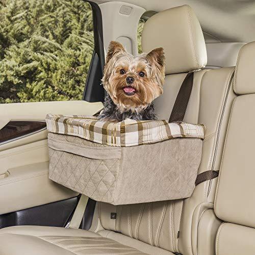 PetSafe Solvit Tagalong Standard-Autositz für Hunde, M, gesteppt