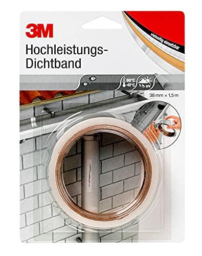 3M Hochleistungs-Dichtband 4412N (Abdichtband, Dichtungsband, Klebeband...