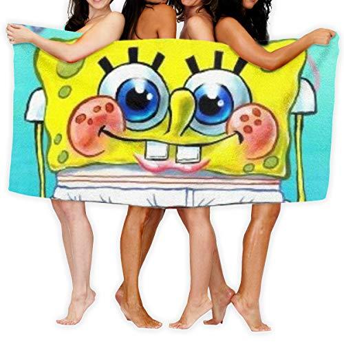 Asakawa SpongeBob Mikrofaser-Badetücher sind geeignet für Hotels,...