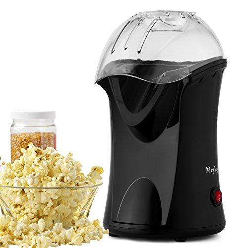 Meykey Popcornmaschine 1200W Heißluft Popcorn Maker, Abnehmbarem Deckel,...