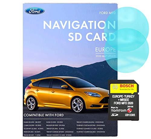Ford MFD V10 Navigations-SD-Karte   Letztes Update 2020   Ford MFD Navi Karte...