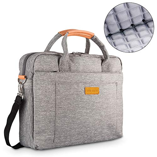 DOB SECHS 17.3 Zoll Laptoptasche Aktentaschen Handtasche Tragetasche Schulter...