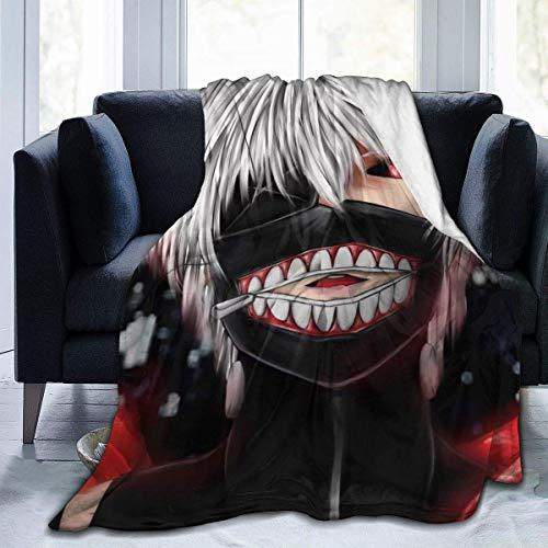 Liquor S Tokyo Ghoul Avatar Decken Superweiche warme Kunstpelz Decke -...