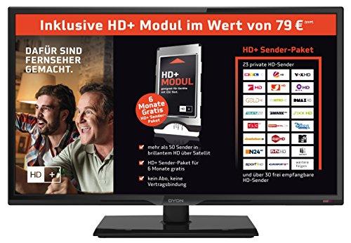 Dyon Live 24 Pro HD+ Edition 60 cm (23,6 Zoll) Fernseher (Full-HD, Triple Tuner)