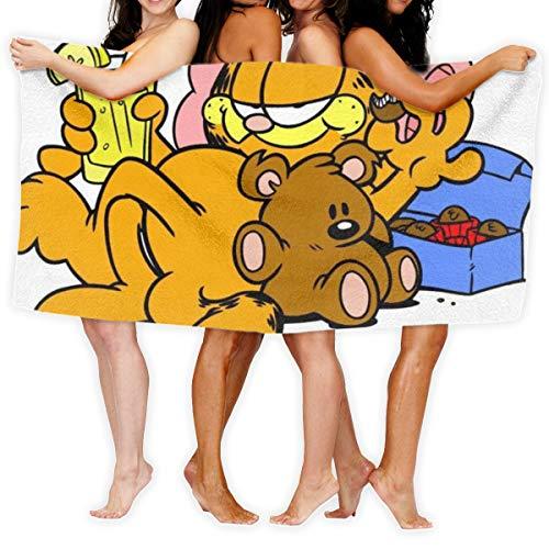 Asakawaholique Garfield Mikrofaser-Badetücher sind geeignet für Hotels,...