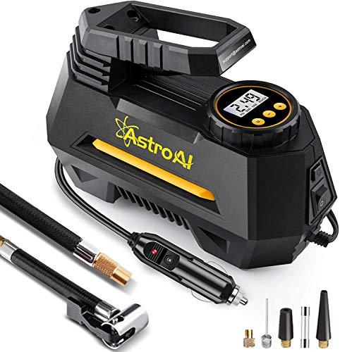 AstroAI Luftkompressor,Auto Luftpumpe Elektrisch Digital Portable Kompressor 12V...