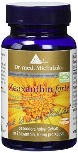 Zeaxanthin forte 10mg und 25mg reines Luetin - nach Dr. med. Michalzik - 60...