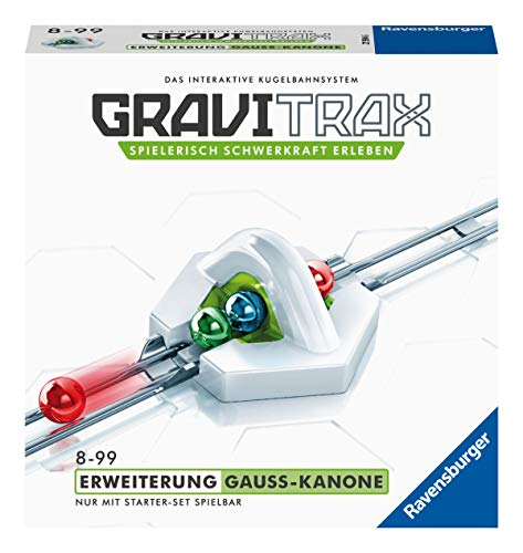 Ravensburger GraviTrax Erweiterung Gauß-Kanone - Ideales Zubehör für...