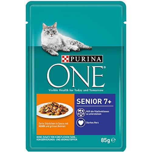 Purina ONE Katzennassfutter, hochwertige Katzennahrung, reich an Vitaminen und...