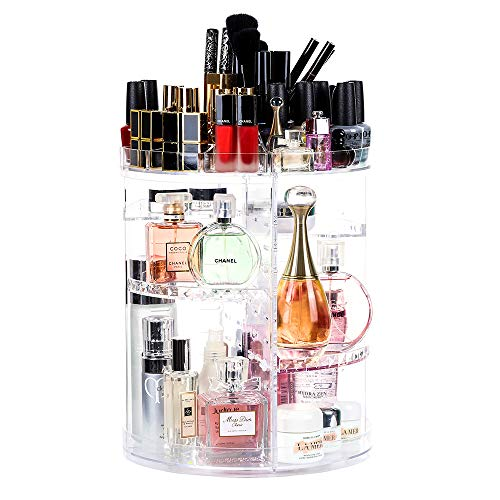 Lilebox 360 Grad drehbarer Make-up-Organizer, 360 Grad verstellbar, für...
