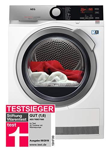AEG T9DE77685 Wärmepumpentrockner / FiberPro – Trocknen ohne Vorsortieren /...