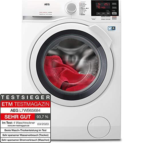 AEG L7WB65684 Waschtrockner / DualSense - schonende Pflege / 8,0 kg Waschen /...