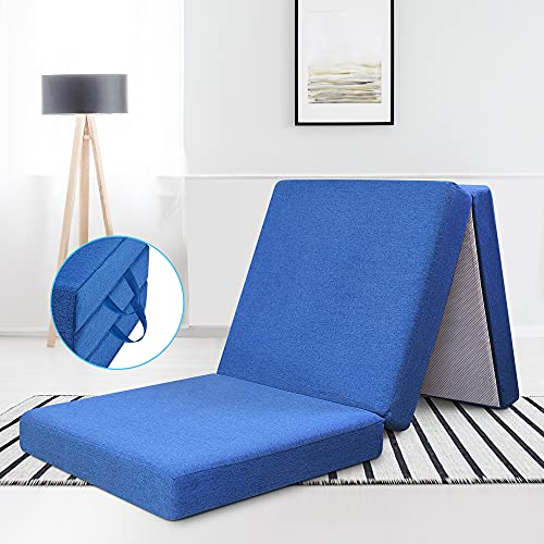 RECCI Premium Klappmatratze faltbar klappbar Gästematratze 195 x 70 x 10 cm,...