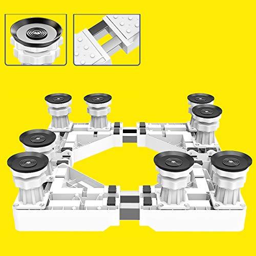 Mfnyp Waschmaschine Basis Sockel, Verstellbar Universal Sockel Kühlschrank...