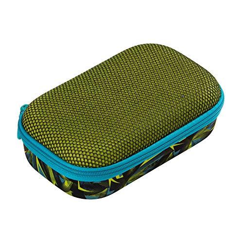 ZIPIT Stiftebox / Aufbewahrungsbox aus Netzstoff, Grün