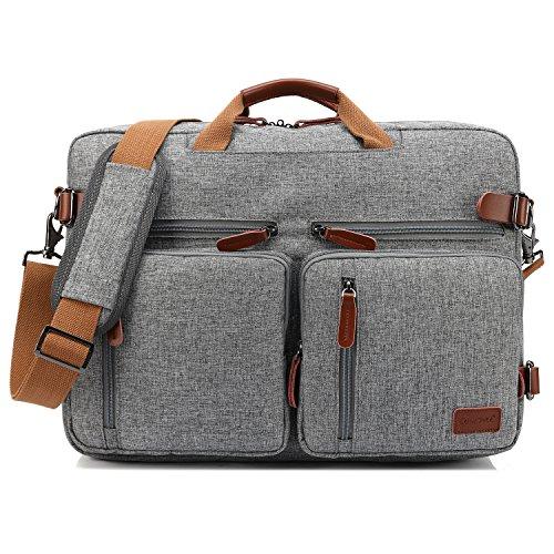 CoolBELL umwandelbar Rucksack Messenger Bag Umhängetasche Laptop Tasche...