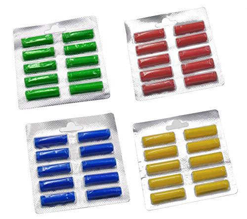 40 Duftstäbchen Parfum.grün, gelb, blau, rot Duftis, Noten 'Sommerwiese',...