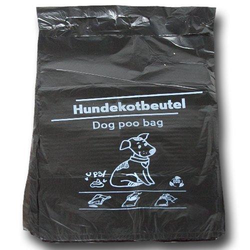 1000 Stück Hundekotbeutel 21x32+3,5 cm - zu 100 Stück geblockt - Der Umwelt...