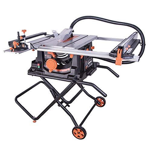 Evolution Power Tools 057-0003 Rage 5-S Mehrzweck-Tischkreissäge, 255 mm (230...