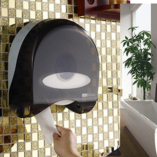 Dongyd Toilettenpapierrollenhalter, ohne Bohren, 3 m, selbstklebend oder Montage...