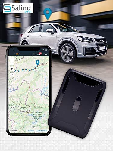 SALIND GPS-Tracker Auto, Motorrad, Fahrzeuge und LKW´s mit Magnet, etwa 40 Tage...