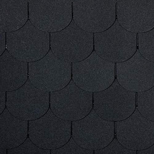 doitBau PREMIUM Bitumen Dachschindeln - Dachpappe Selbstklebend für 3m²...