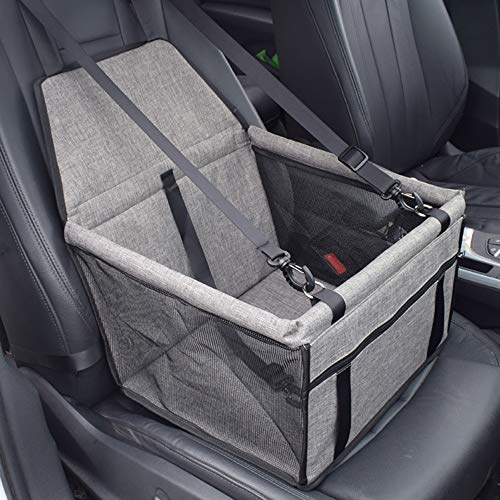 MYYINGELE Hunde Autositz für Hunde, Pet Car Booster Sitz, Wasserdicht Faltbare...