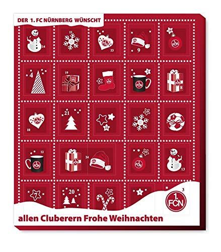 1. FC Nürnberg - Adventskalender 2020 - Weihnachtskalender Premium mit Poster -...