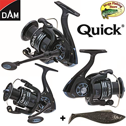 Dam Quick Fighter Pro Metal Spinrolle - Spin Rolle/Angelrolle - 2000 bis 6000...