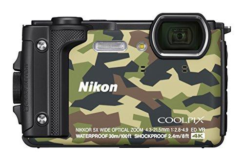Nikon Coolpix W300 Digital Camera Camouflage (16 MP, 5x Optical Zoom/7.6 cm (3...