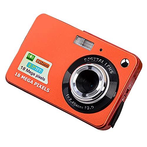 JUNM Digitalkamera, 6,9 cm (2,7 Zoll) Heim-Selfie-Kamera, Cartoon-Videokamera,...