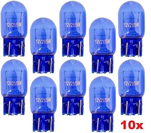 10x Stück - T20 – W21/5W - W3x16d - 21/5W - 12V – SUPER WHITE KFZ...