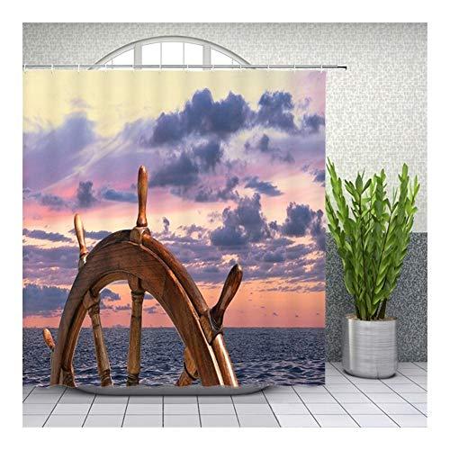 LHYLHY Duschvorhänge Home Decor Badewanne Badewanne Wasserdichtes Tuch-Vorhang...