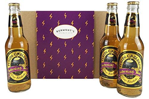 Harry Potter Alkoholfreier Butterscotch Bier 3 Pack - Behindern Exklusive...