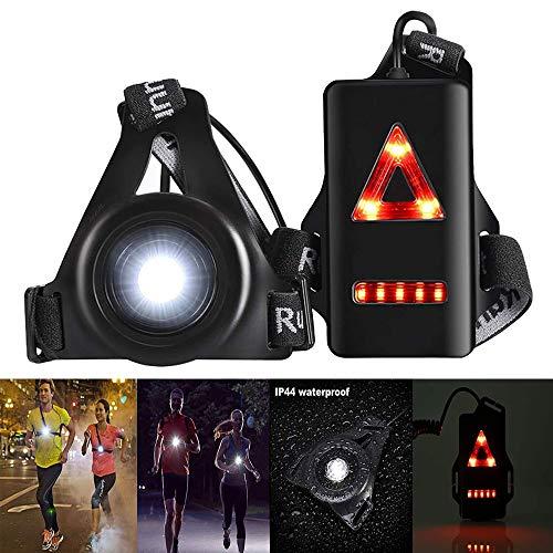 Konesky Laufende Nachtlampe, Wasserdichter Außensport USB-Ladung Joggen...